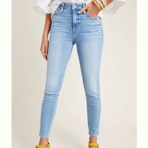 Paige Hoxton high rise skinny jeans, NWT!!